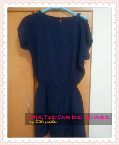My Cotton Tunic Dress from This-Season