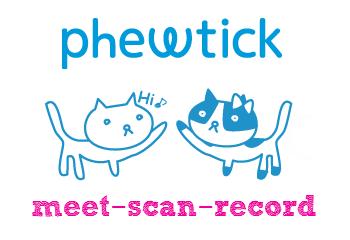 Phewtick - The Meet Up Diary