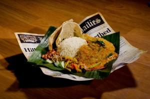 Kampong Rendang Chicken Nasi Lemak