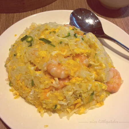 Din Tai Fung - Fried Rice with Shrimp & Egg