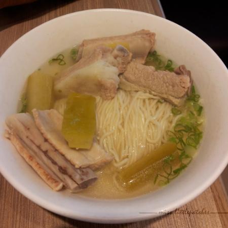 Din Tai Fung - Pork Ribs Noodle