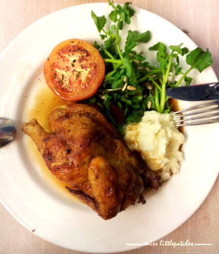 Rosemary Truffle Roast Chicken
