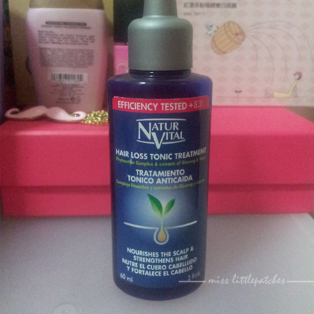 NaturVital Hair Loss Tonic Treatment