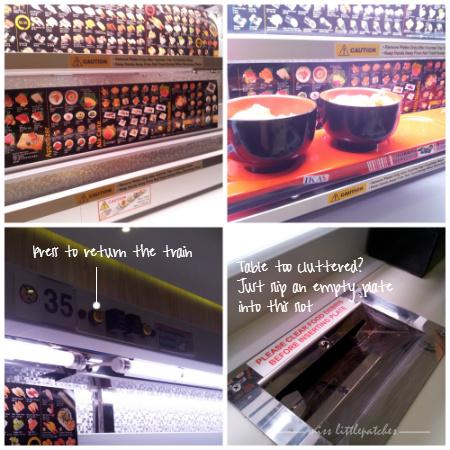Genki Sushi - Kousoku (Express) system