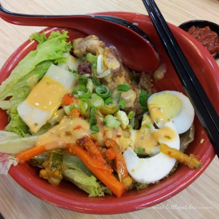 Salad Spinach Noodle