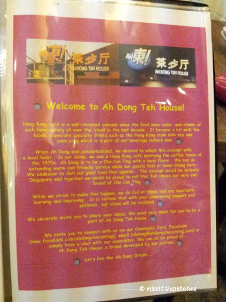 Ah Dong Teh House - Writeup