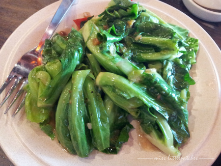 Dian Xiao Er - Baby Kailan w Salted Fish & Lime
