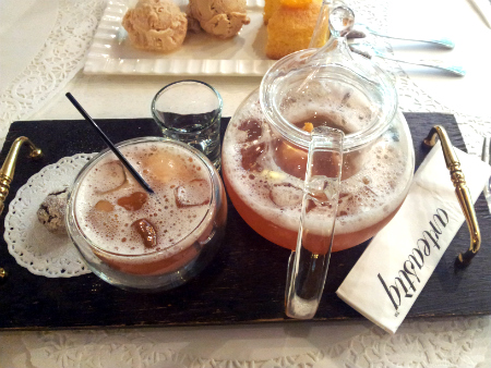 Lychee Iced Tea Recipe, How to make Lychee Iced Tea | Iced Tea Recipes