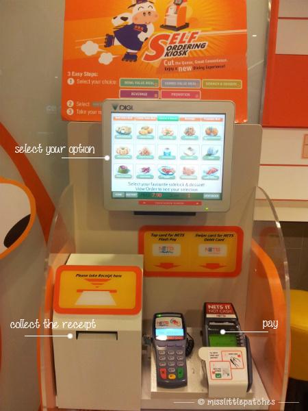 Yoshinoya - Self Ordering Kiosk