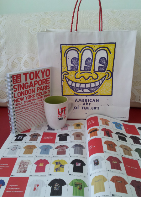 Uniqlo UT POP-UP Goodie Bag