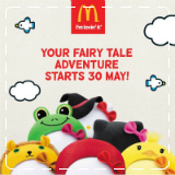 McDonalds Fairy Tale Hello Kitty – The Frog Prince