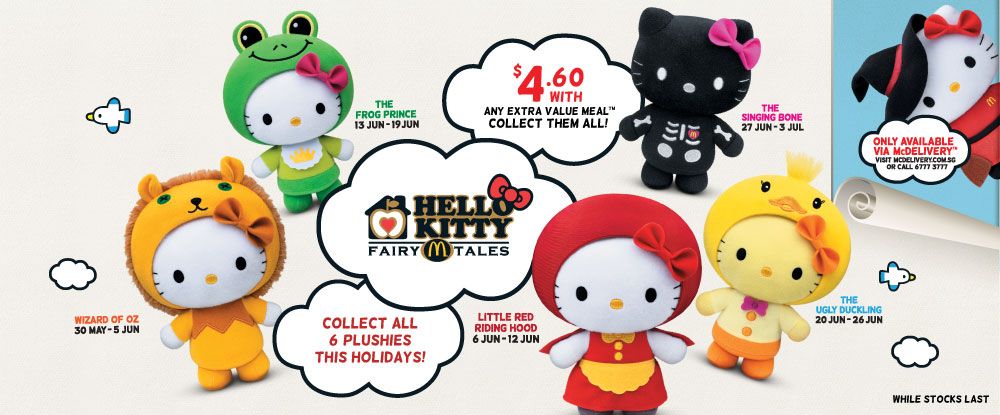 "McDonald's Hello Kitty Plushies Schedule - Image from <a href=""http://mcdgoplay.com/"">http://mcdgoplay.com/</a>"