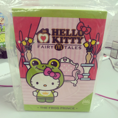 McDonalds Fairy Tale Hello Kitty - The Frog Prince