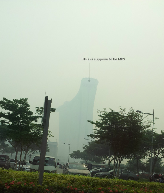 MBS during the Haze