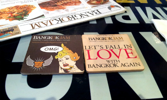 Bangkok Jam - I LOVE Coasters