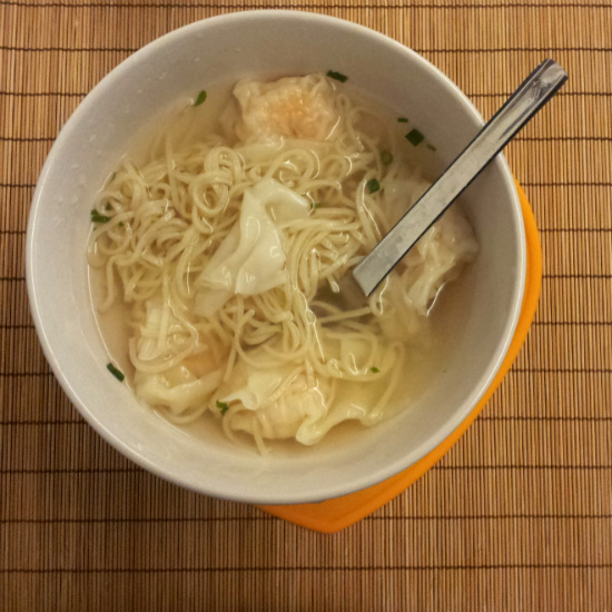 CP Shrimp Wonton with Noodles (Bowl)