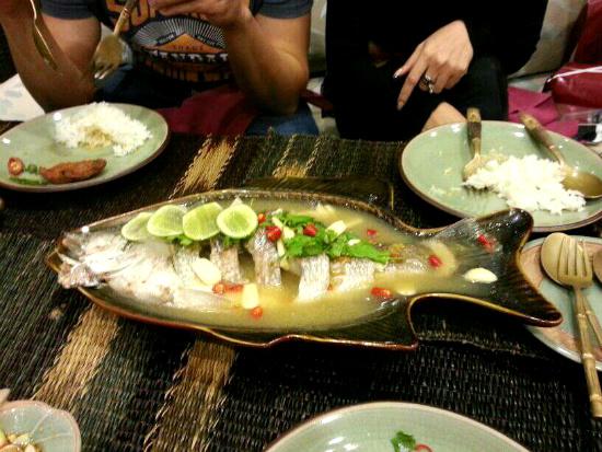 Favorite Thai Steam Fish