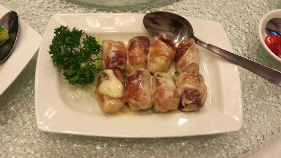 Bacon Seafood Roll