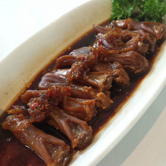 Stewed Duck Tongues