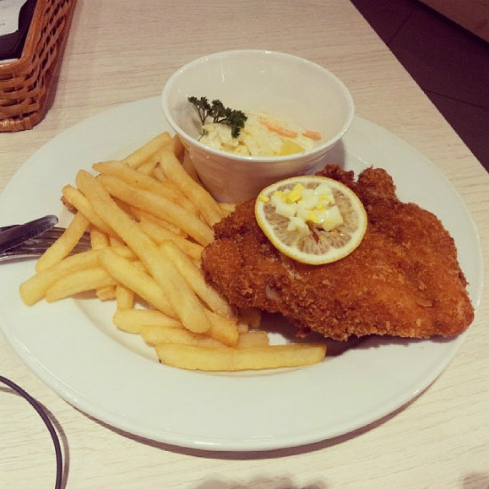 Swensens - Breaded Chicken