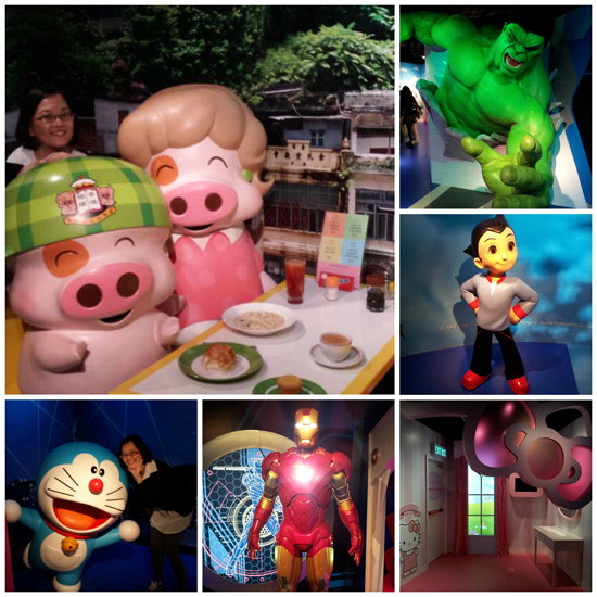 Madame Tussauds HK - Super Heroes / Cartoon