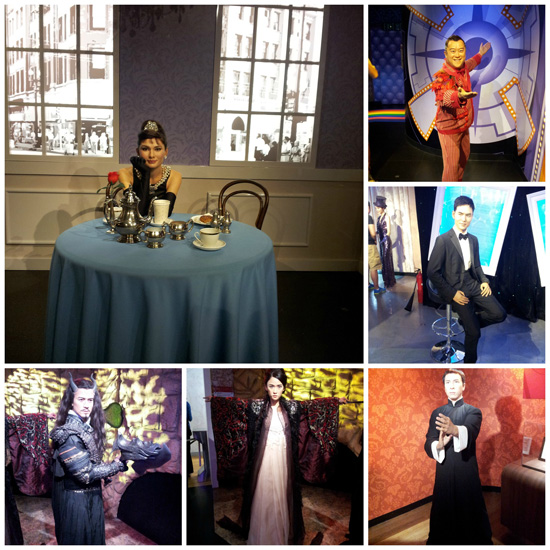 Madame Tussauds HK - Celebrities