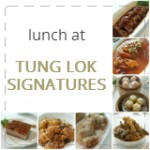 Business Lunch at Tung Lok Signatures (VivoCity)
