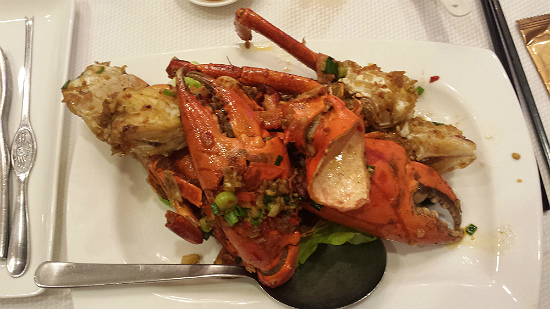 Pepper Spices Crab