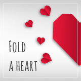 Fold an e-Heart this Christmas