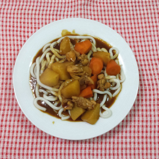 In my kitchen - Japanese Curry Udon