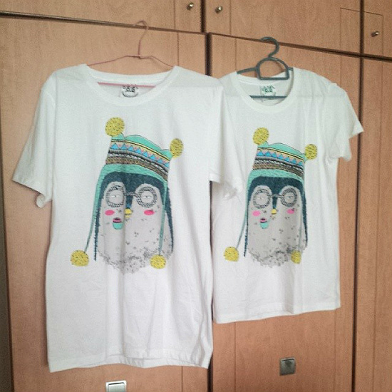 Couple Tshirt from Qoo10