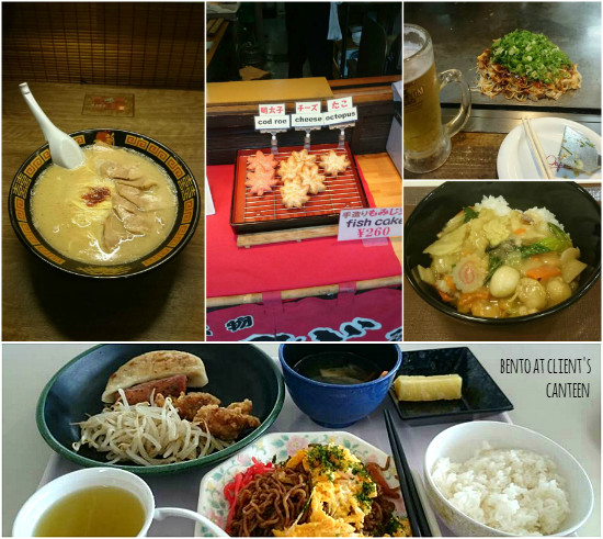 Meals in Hiroshima