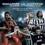 Juventus FC vs Singapore Selection at the new Stadium