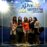 A night's fun in Alive Museum Singapore