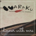 Post Birthday Dinner at Waraku (The Central)