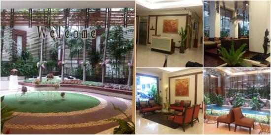 Centrepoint Pratunam Hotel Lobby