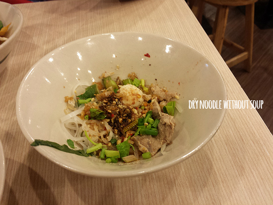 11 Dry Noodle without Soup