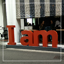 Lunch at I am… Cafe @ Haji Lane