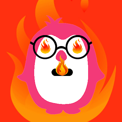 Flaming Penguin