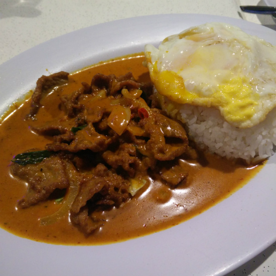 Curry Beef Rice